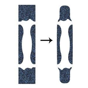 Image 4 - 122*24cm Longboard papier ścierny zagęścić ograniczona poślizgu deskorolka Grip taśmy płaski talerz Griptape naklejki na ryby deska długa deska