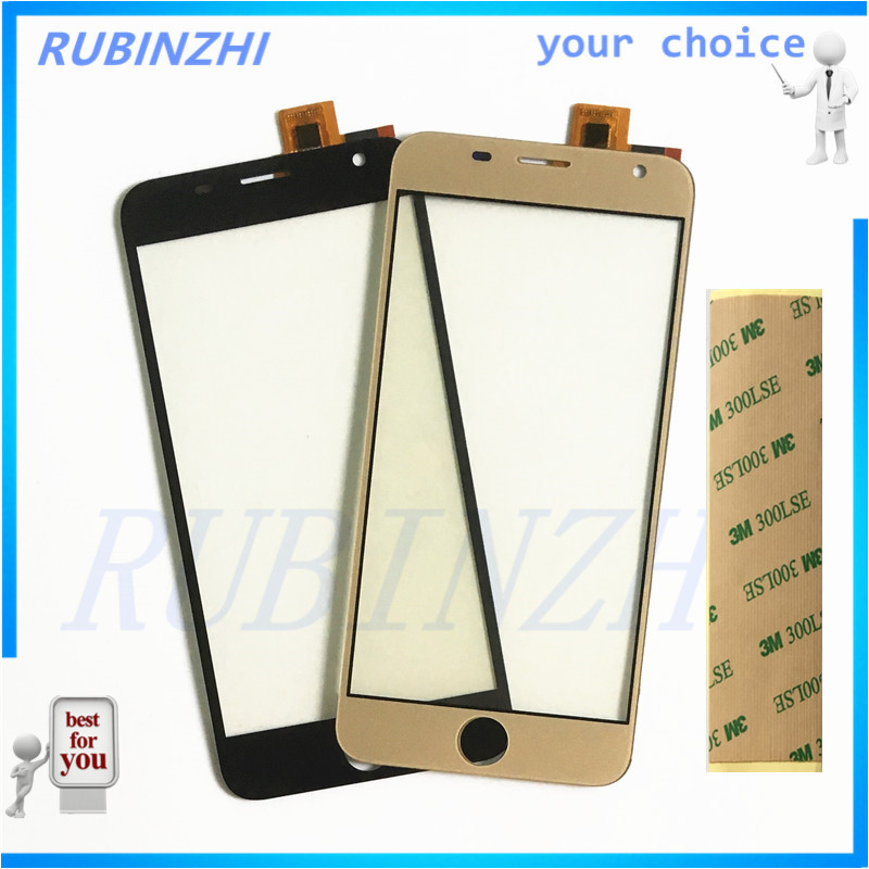 RUBINZHI Phone Touch Sensor For Prestigio Grace R7 PSP7501DUO psp7501 duo Touch Screen Panel Digitizer Replacement tape in Mobile Phone Touch Panel from Cellphones Telecommunications