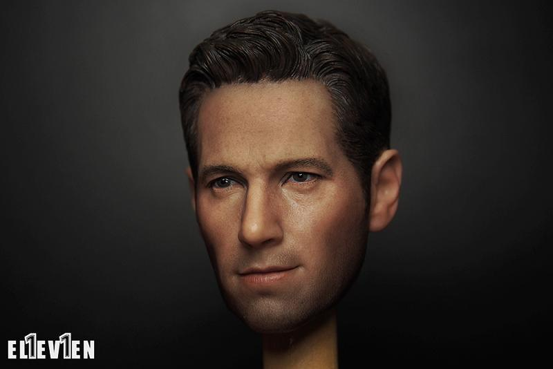 ФОТО Paul Rudd 1/6 Scale Male Head Sculpts Model Toys As Ant Man For 12
