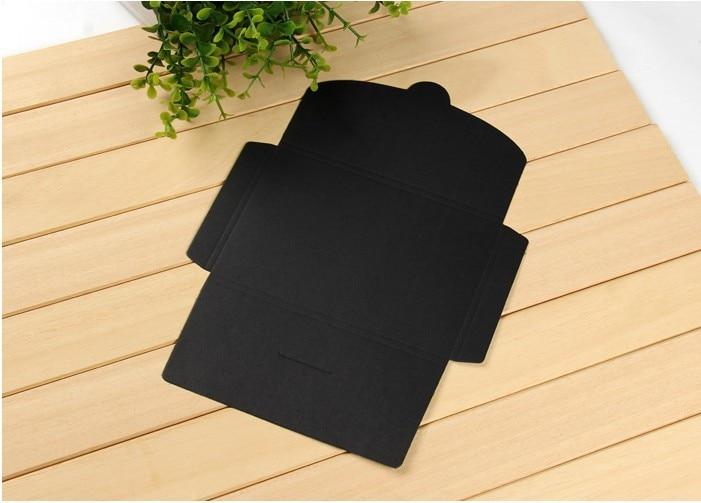творческие винтажный крафт-бумага белый и черный