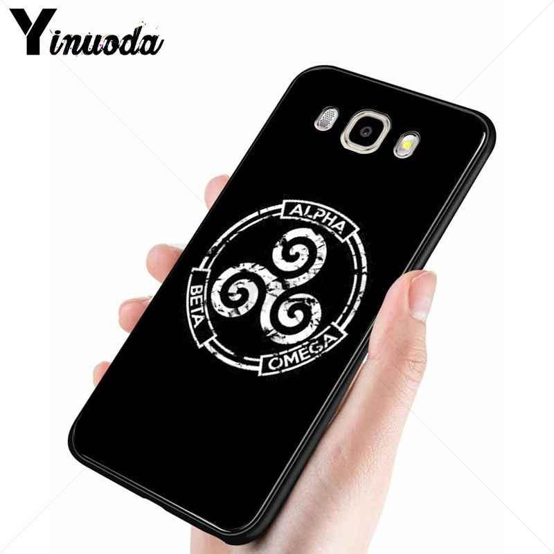 Yinuoda TV series วัยรุ่นหมาป่าสีดำโทรศัพท์มือถือกรณีสำหรับ Samsung Galaxy j6plus j7 prime j8 j2 prime j4plus 2018 โทรศัพท์มือถือ