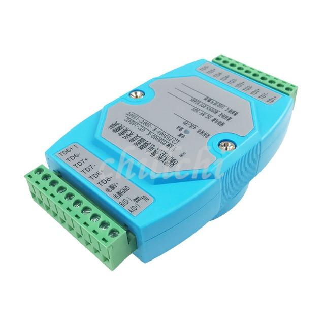 Модуль сбора термопары 8 K, протокол MODBUS RTU 485