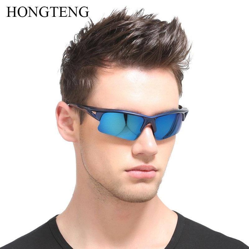 2017 New Fashion Polarized Sunglasses Men Travel Sun Glasses For Driving Golfing Biking Eyewear UV400 Gafas De Sol ZE079