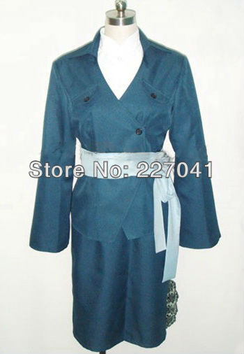 Macross Frontier Grace Halloween Cosplay Costume Free Shipping A0138