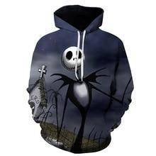 2019 Sweatshirts Hoody Men/Women 3d Print Spades A Skull Hooded Hoodies Pullovers Tops Streetwear