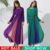 2015 Vestuário Islâmico Turco Abaya Musilim Vestido Maxi Chiffon Fino de Manga Comprida Novo Estilo Moda Mulheres Vestido Dos Muçulmanos Vestuário