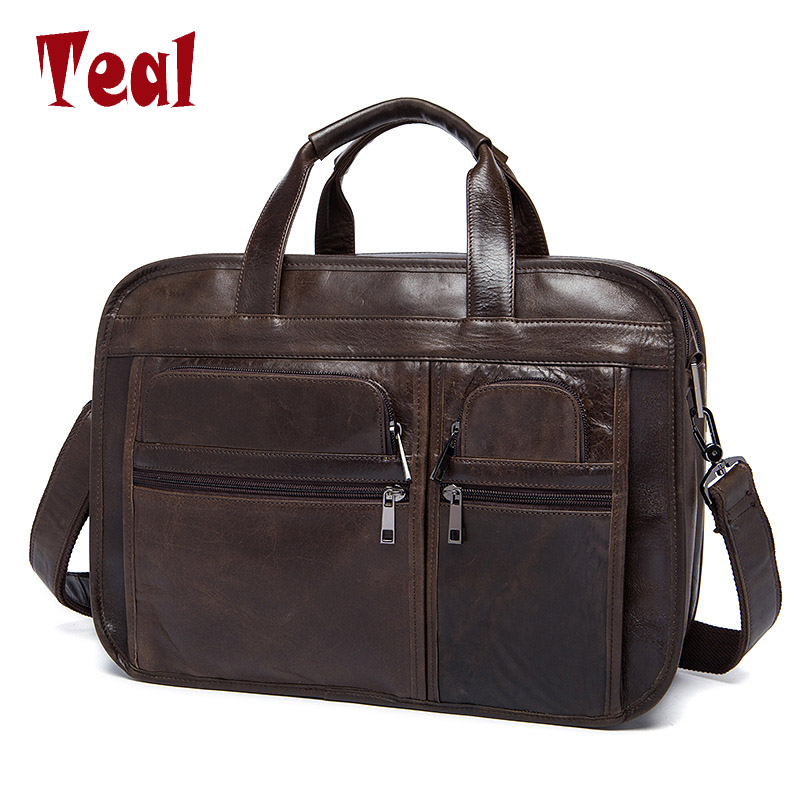 Men's handbag Men Briefcase Genuine Leather Man Bags shoulder Men Business Laptop Luxury Brand high Quality Business Briefcase босоножки topway topway to038awbctk3