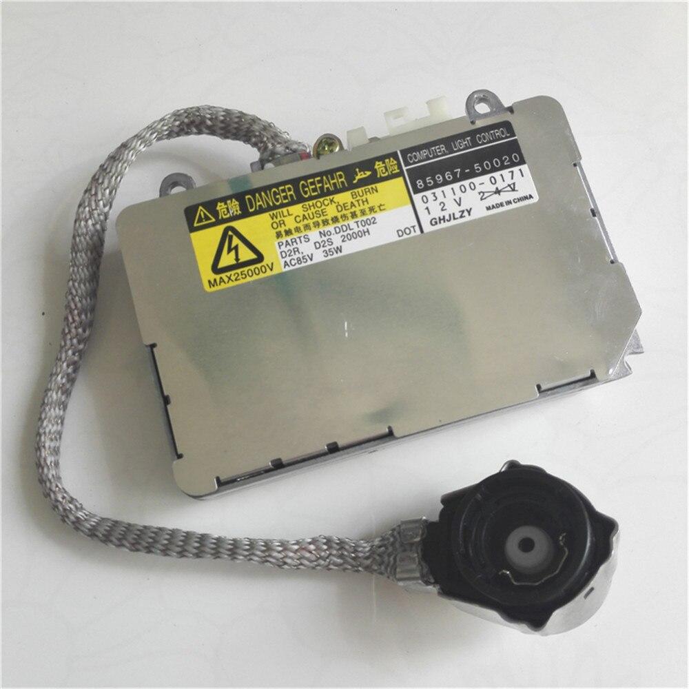 Hid redresseur original haute pression tête AMP connecteur xénon lampe stabilisateur pour KOITO pour toyot-a réacteur D2S H série lampe