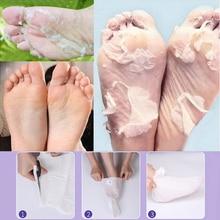 2 pair/lot Foot Mask Peeling Dead Skin Smooth Exfoliating Feet Care Socks Pedicure Socks For Heels Peeling Cuticles Removal L159