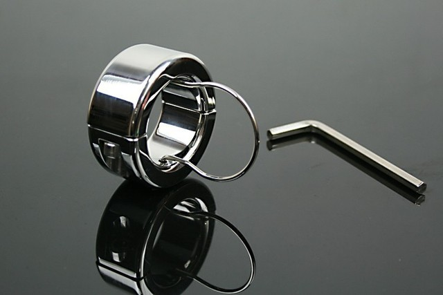 350g Weights Stainless Steel Chastity Device,Testicle Balls Scrotum Pendant Shackles Sex Toys,Man Scrotum Stretchers Penis Rings