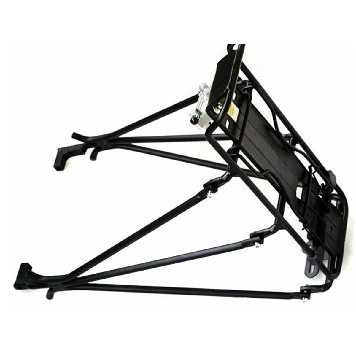 Цена за Алюминиевый Сплав MTB Велосипед Rack Carrier Корзины Сумка Перевозчик Регулируемые Задние Сиденья Багажа Велоспорт Кронштейна