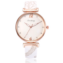 Top Brand Luxury Watch Women Quartz Leather Gold Wristwatches Women's Watches Waterproof Bracelet Watch Ladies Clock Reloj Mujer hot sale top luxury gold watch fashion long leather bracelet watch women watches ladies bangle quartz watch hour reloj mujer