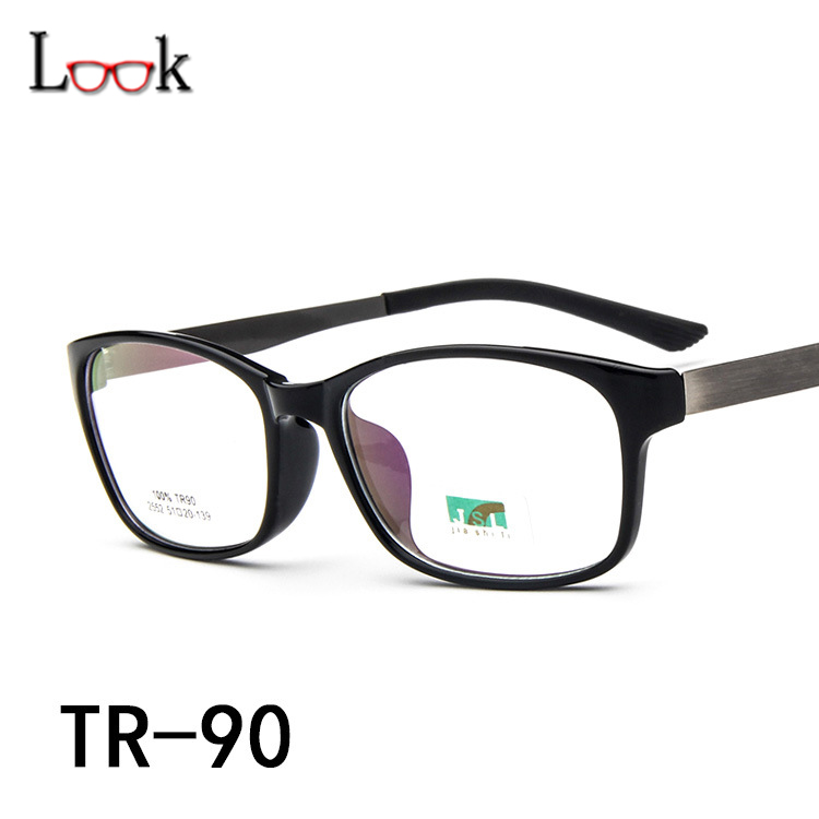 ộ_ộ ༽Tr90 Gafas Marcos moda retro ultra ligero ojos Gafas ...