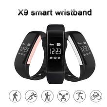 X9 Смарт Браслет Спорт с OLED Touchpad браслет сердечного ритма Мониторы Smart Band IP67 Водонепроницаемый Поддержка Одежда заплыва SmartBand