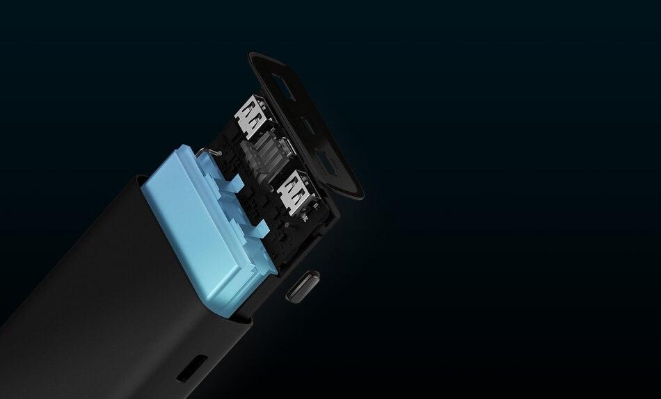 Из России- 20000 мАч Xiaomi Power Bank 3 Mi Power Bank Pro PLM07ZM с тройным выходом USB USB-C 45 Вт Двусторонняя Быстрая зарядка