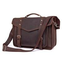 JMD Топ Класс Crazy Horse кожаная сумка Винтаж Mesenger сумка модное сумка через плечо 7377R