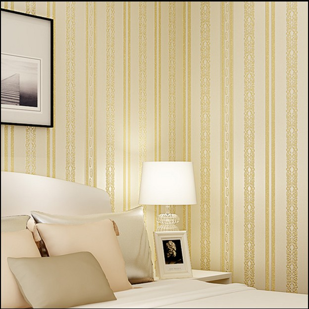 New hot selling non-woven bedroom a sitting room, Jane Europe type 3d vertical stripes TV setting wall paper Flocking wallpaper europe type restoring ancient ways the flag of non woven fabrics do old sitting room the bedroom tv setting wall paper sweet