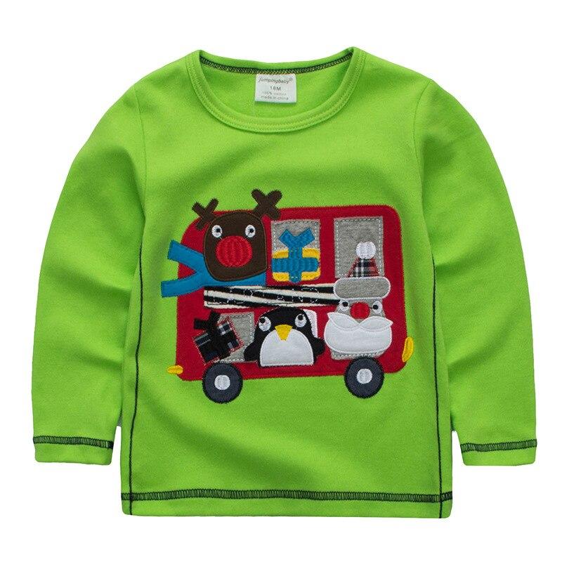 2019 garçons T shirt voiture T-shirt enfants T-shirt vêtements à manches longues automne haut Koszulka Koszulki Meskie T-shirt Enfant Garcon t-shirts