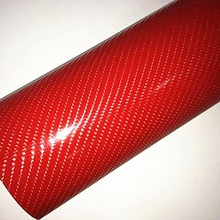 152X20CM voiture autocollant intérieur 4D Film de carbone Auto adhésif en Fiber de carbone conception UV protégé 5 couleur Auto décoration autocollant