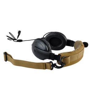 Image 2 - טקטי אוזניות כיסוי מתקדם מודולרי אוזניות כיסוי Molle סרט עבור כללי טקטי מחממי אוזני ציד אבזרים