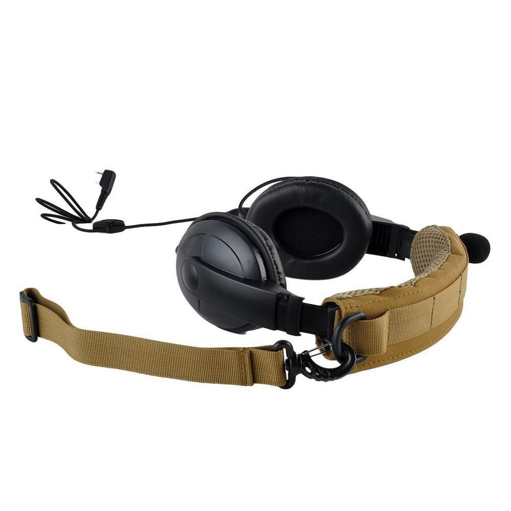 Image 2 - Tactical Earphone Cover Advanced Modular Headset Cover Molle Headband for General Tactical Earmuffs Hunting Accessories-in Holsters from Sports & Entertainment