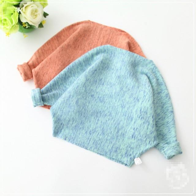 2017 Niñas suéter de punto otoño suéter superior estilo de la manera Europea de alta calidad para niños niñas suéteres del suéter de los niños