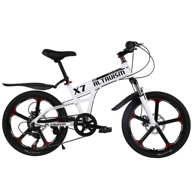 Altruism X7 20 Inch 7 Speed Children Mountain Bike One Piece Wheel