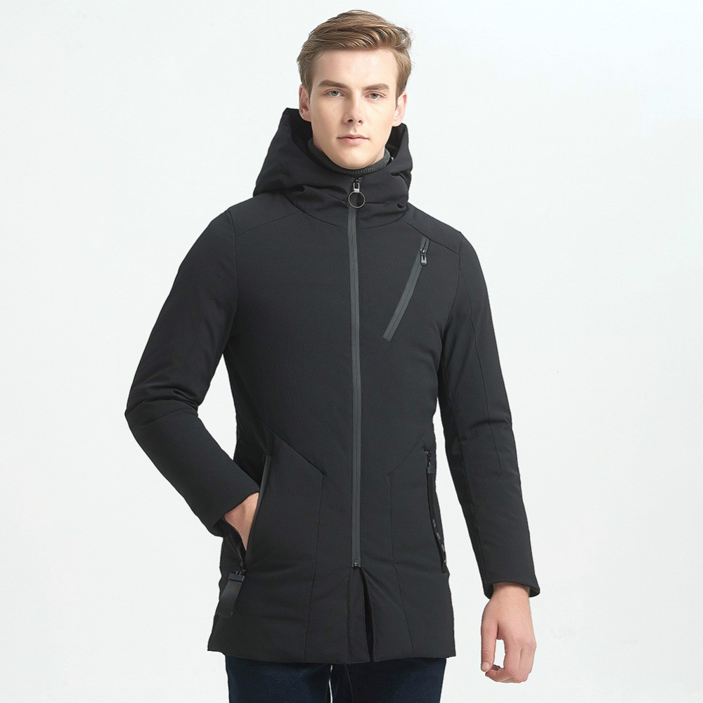 2018 Fashion Long Warm Duck Bomber Jacket Men Thick Casual Men Coat Male Hooded Parka Winter Windproof Warm Snow White Duck Coat 2016 fashion winter hooded white duck down men jacket thick casual warm hoodies coat for man with camouflage pattern a4268