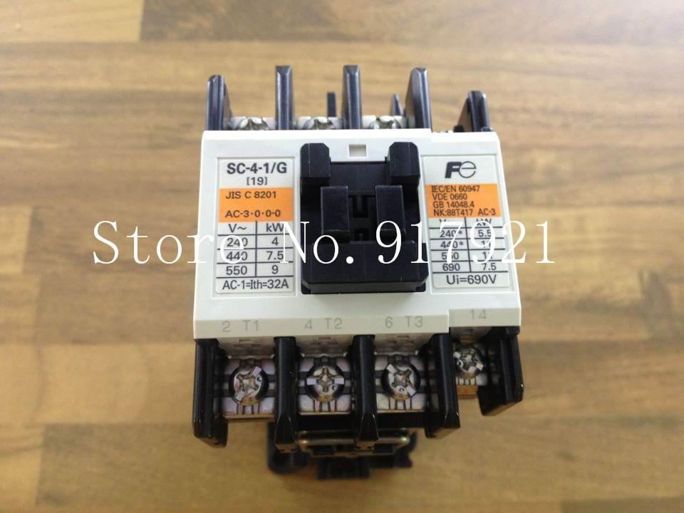 [ZOB] New original Fe SC-4-1/G DC24V 32A DC contactor Fuji Elevator DC contactor new lp2k series contactor lp2k06015 lp2k06015md lp2 k06015md 220v dc