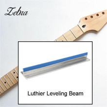 T-shape Long Span 9.8″ Fretboard Fret Leveling/Sanding Beam for Luthier Musical Stringed Instrument Guitar Tool Accessories