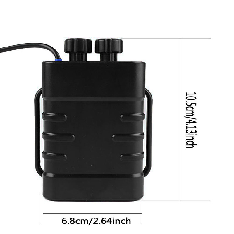 Image 4 - Hot 6 Section 18650 Waterproof Battery Case 18650 Battery Pack 5VUSB/8.4VDC Dual Interface 18650 Waterproof Battery House Cover-in Outdoor Tools from Sports & Entertainment