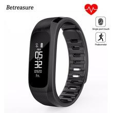 Betreasure NOVO UP9 Inteligente Pulseira Bluetooth Pulseira Inteligente Heart Rate Monitor de Fitness IP67 À Prova D' Água Banda Inteligente PK Xiaomi