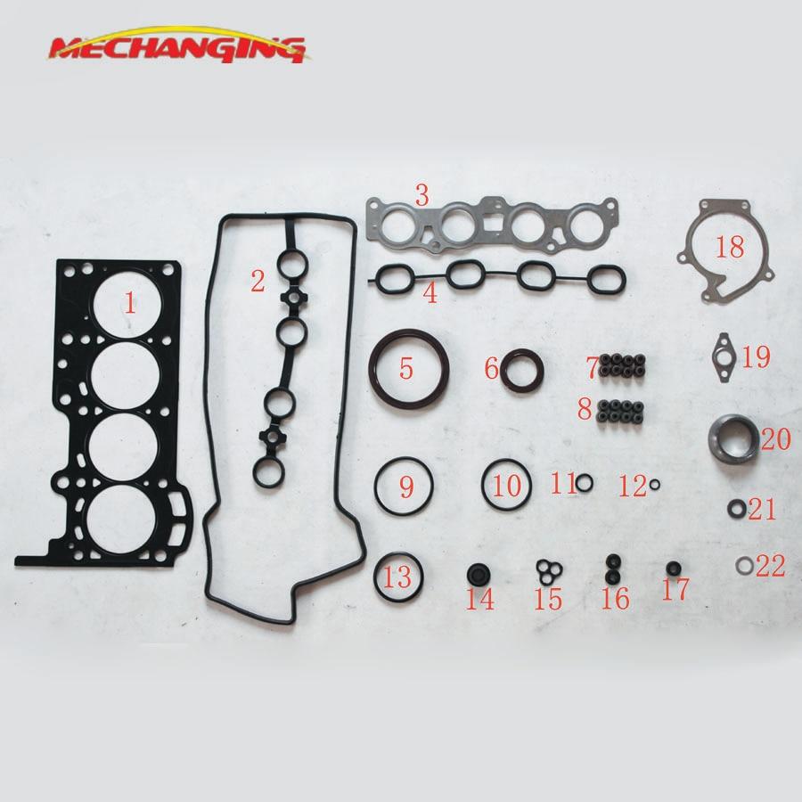 Customized LOGO For DAIHATSU TERIOS (J1) SIRION (M1) YRV K3-VE K3 K3-VE2 metal Engine Gasket Full Set 04111-97403-000 50231000Customized LOGO For DAIHATSU TERIOS (J1) SIRION (M1) YRV K3-VE K3 K3-VE2 metal Engine Gasket Full Set 04111-97403-000 50231000