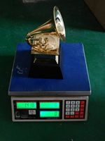 23cm Height GRAMMYS Awards 1:1 Real Life Size Gramophone Metal Trophy By NARAS Nice Gift Souvenir Collection Free Shipping