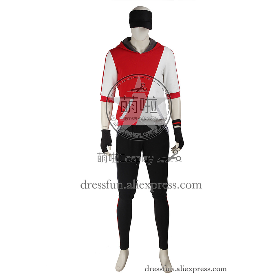 Pokemon GO Cosplay Costume Monster Trainer Costume Fashion Dress Red Hoodies Uniform Suit Casual Wear Christmas Party