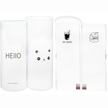Cartoon animal strong magnetic buckle large capacity creative multi-function anti-shock shockproof and dirty pen case