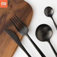 New Xiaomi Ecological Chain Maision Maxx Stainless Steel Tableware 4 Kit Knife Spoon Fork Tea Spoon