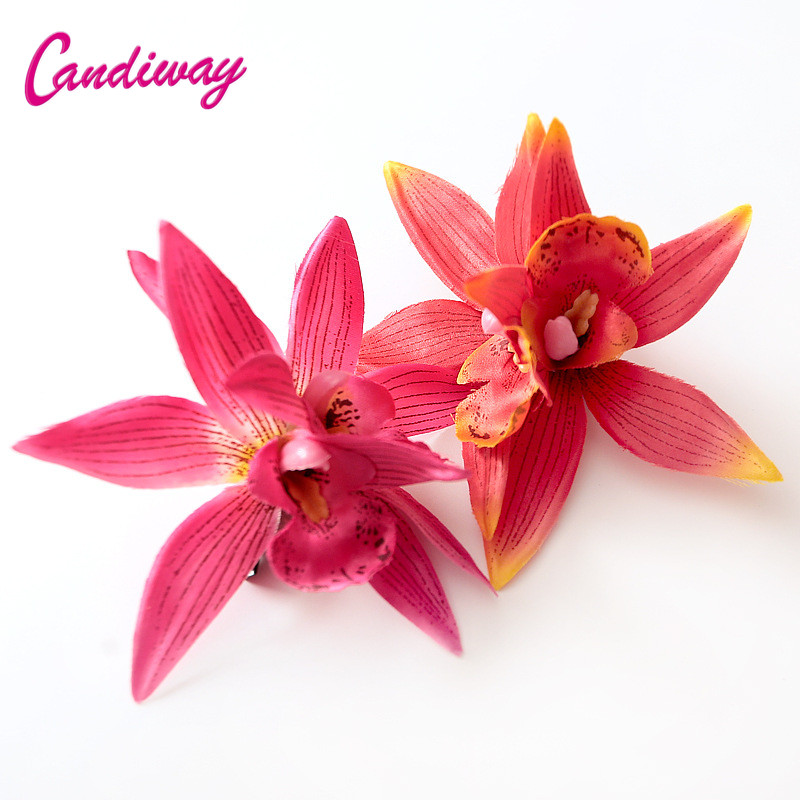 Candiway Design Women Girls Fashion Barrettes Hair Accessories Flower Hair Clip Headwear Women Wedding Decoration Hairpins Claw women girl bohemia bridal peony flower hair clip hairpins barrette wedding decoration hair accessories beach headwear
