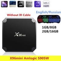 Original X96mini Smart TV BOX Android 7 1 Amlogic S905W Quad Core Set Top Box 2