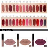 24 Colors Matte Liquid Lipstick Waterproof Long Lasting Lip Gloss Lint Makeup Cosmetics 2