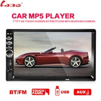 MEW 7 Inch Telescopic Screen Single Spindle Car T A MP5 Car MP4MP 3 Usb Card