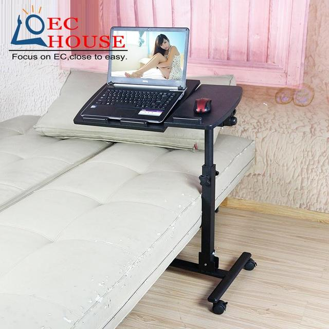Tiger dad simple adjustable bed notebook comter desk, folding mobile lifting lazy table shipping space FREE SHIPPING