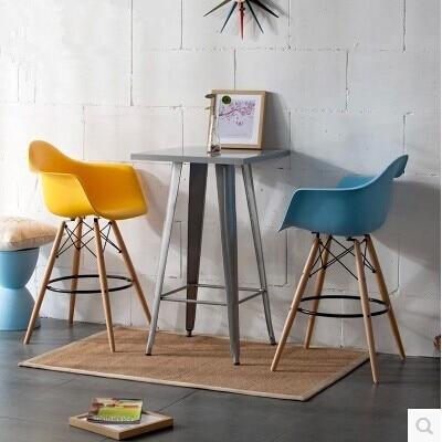 Ordinaire Eames Chair Armrest Bar Chairs Creative Bar Tall Bar Chairs Creative  Fashion Minimalist Bar Stool High