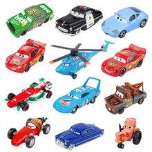 Дисней Pixar Тачки 2 3 Молния Маккуин Джексон шторм Док Хадсон матер 1:55 литья под давлением металлический сплав модель автомобиля подарок на день рождения игрушки для мальчиков