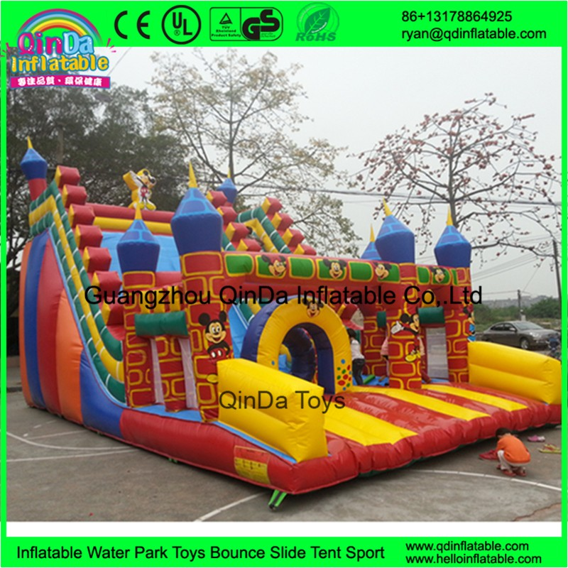 Inflatable Slide Bounce125