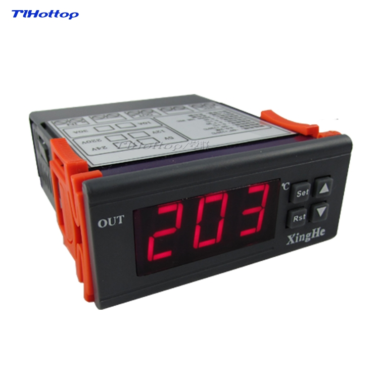 30 500 Celsius Degree Full Controller For Heating Cooling System High Temperature TLHOTTOP