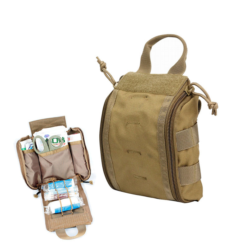 1000D Tactical MOLLE First Aid Kit Rip-Away EMT Medical Pouch Bag Utility EDC Accessory Waist Pack ...