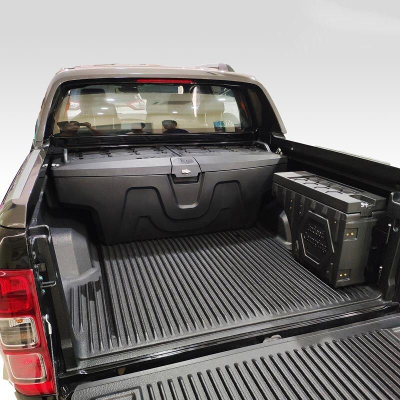 Boîte de rangement pour voiture pour Dmax Hilux boîte à outils de ramassage boîte de rangement pour voiture