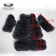 Роскошный лиса Мех пальто, 100% натуральная значение лиса Мех Пальто и пуховики, Для женщин зимняя куртка, дамы Пух куртка для женщин Мех пальто из натурального Мех