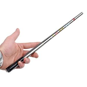 LIDAFISH1.8M-5.4M Carbon Fiber Portable Telescopic Fishing Rod Ultralight Mini Pole Travel Fishing Tackle Stream River Sea Rod